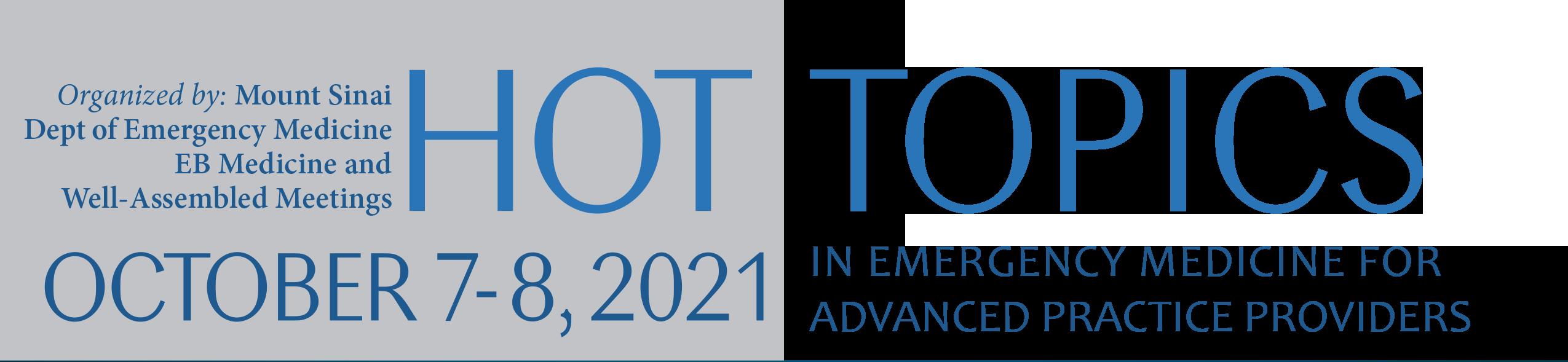 HOT TOPICS 2021 header